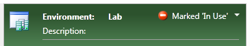 "Screenshot of a lab environment marked as ""In Use"""
